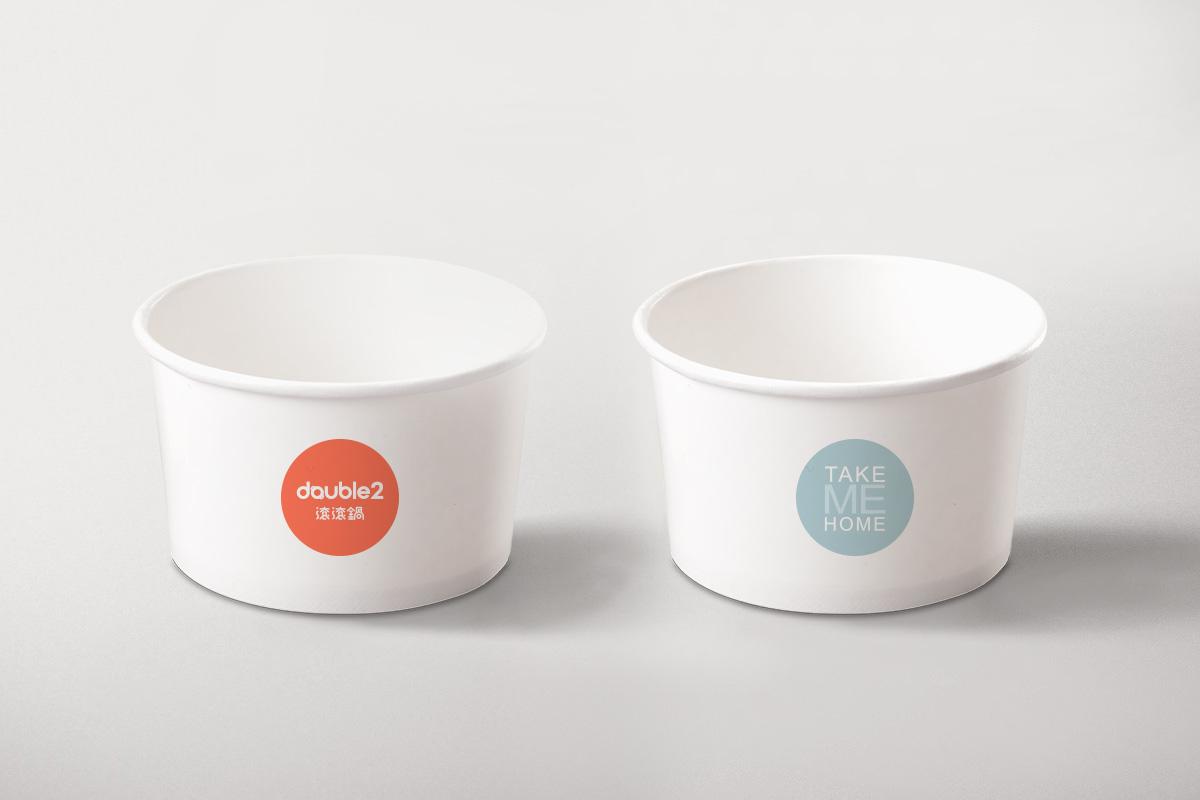 餐飲包裝紙碗設計