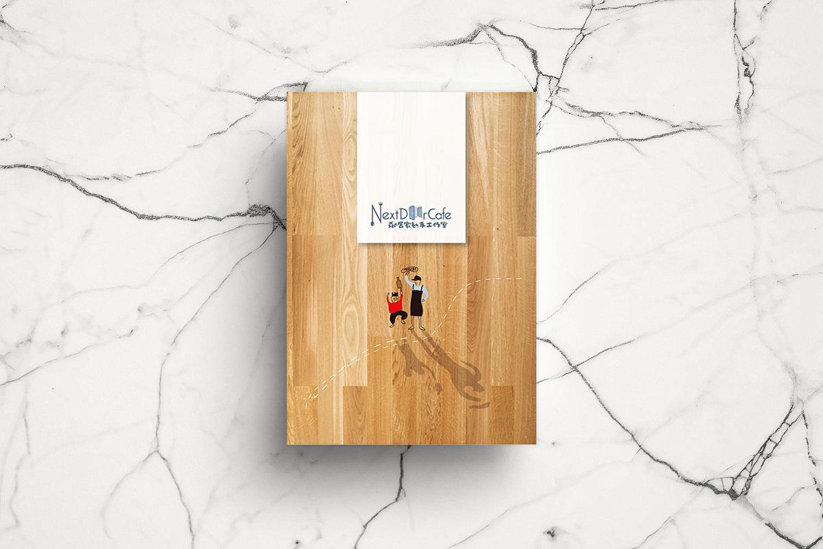 美式餐廳菜單平面作品設計