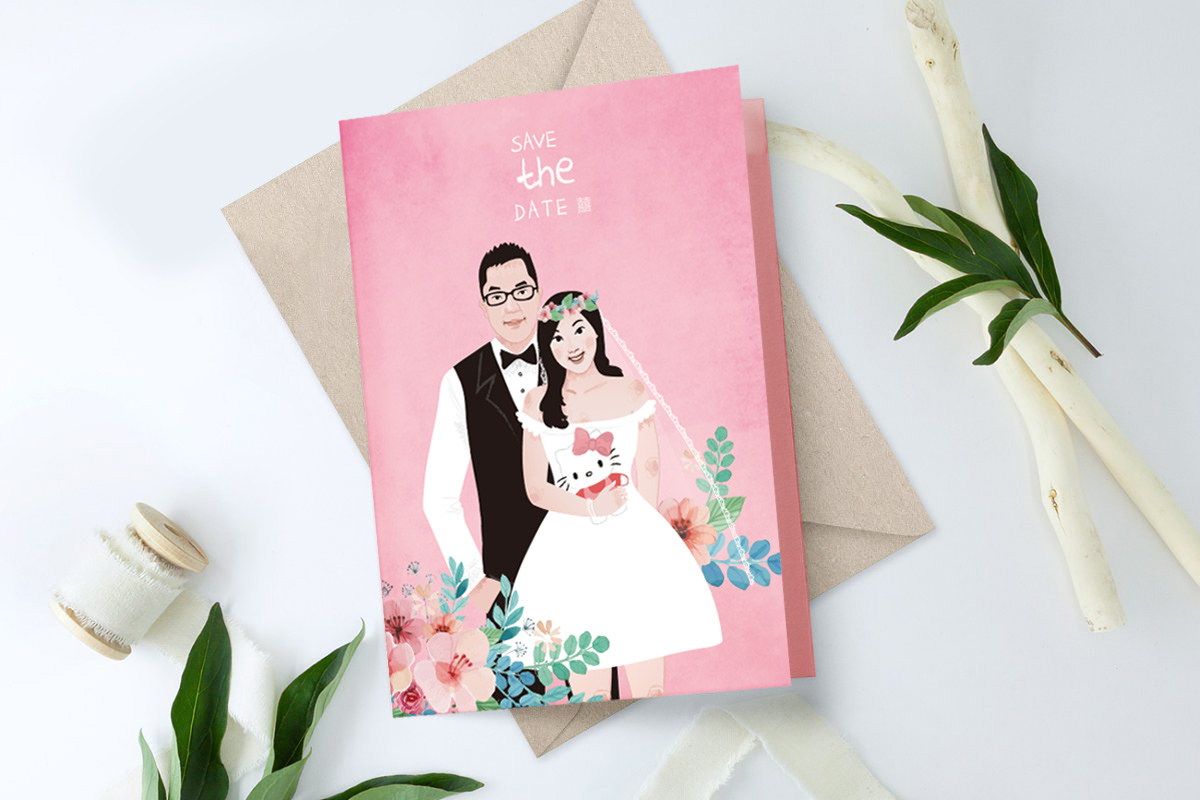 婚卡邀請卡設計